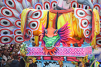 Kung Foo panda float with dragon