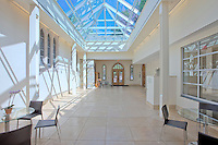 Interior & Exterior images of St. Paul's Episcopal Church Narthex addition and Renovation built by Coakley Williams Construction