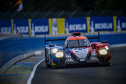 June 14, 2018 - Le Mans, FRANCE - 39 GRAFF SO24 (FRA) ORECA 07 GIBSON LMP2 VINCENT CAPILLAIRE (FRA) JONATHAN HIRSCHI (CHE) TRISTAN GOMMENDY  (Credit Image: © Panoramic via ZUMA Press)