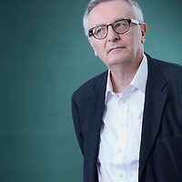 John Gray, Oxford professor of politics and author, at the Edinburgh International Book Festival 2015.<br /> Edinburgh, Scotland. 27th August 2015 <br /> <br /> Photograph by Gary Doak/Writer Pictures<br /> <br /> WORLD RIGHTS