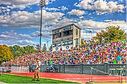 2013 SEP 28 - An HDR impression of Tucci Stadium at Illinois Wesleyan University.  This image was created using three images, stacked using HDR processes.
