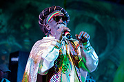 Bunny Wailer singing at Bourbon Beach Bar, Negril, Westmoreland, Jamaica.