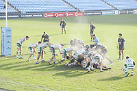 Rugby Union - 2020 / 2021 Gallagher Premiership - Round Eight - Wasps vs Northampton Saints - Ricoh Stadium<br /> <br /> Wasps players held up on the line.<br /> <br /> COLORSPORT/ASHLEY WESTERN