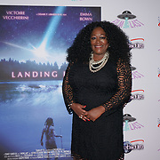 London, England, UK. 14th September 2017.Cast Kym Mazelle attend the Landing Lake Film Premiere at Empire Haymarket,London, UK.