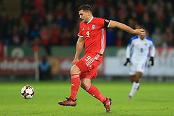 14th November 2017 - International Friendly - Wales v Panama - Sam Vokes of Wales - Photo: Simon Stacpoole / Offside.