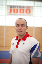 © London News Pictures. 23/08/2012. Dartford, Kent. Judo paralympian Joe Powell. Britain's leading judokas from ParalympicsGB in training at their national base in Dartford, Kent before competing in London2012. Picture credit should read Manu Palomeque/LNP