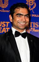 Shahin Hassan at  the British Curry Awards, at Evolution Battersea park London.