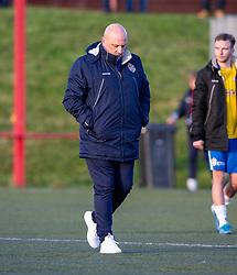 Broxburn Athletic FC 3 v 0 Cowdenbeath, William Hill Scottish Cup 2nd Round replay played 26/10/2019 at Albyn Park, Greendykes Road, Broxburn.