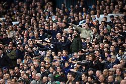 19 March 2017 - Premier League - Tottenham Hotspur v Southampton - Tottenham fans host abuse at the Referee - Photo: Marc Atkins / Offside.