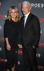December 9, 2018 - New York City, New York, U.S. - KELLY RIPA and ANDERSON COOPER attend the 12th Annual CNN Heroes: An All-Star Tribute held at the American Museum of National History. (Credit Image: © Nancy Kaszerman/ZUMA Wire)