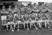 07/09/1986<br /> 09/07/1986<br /> 7 September 1986<br /> All-Ireland Senior and Minor Hurling Finals at Croke Park, Dublin.<br /> Cork team (senior)
