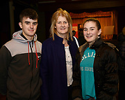 24/02/2018  Gordon and Ciara O'Connor and their mum Faithat a public meeting to discuss the future plans for a School of Music for Galway city, organised by Maoin Cheoil na Gaillimhe at Presentation NS. Photo:Andrew Downes, XPOSURE .