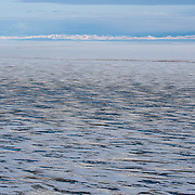 The Brooks Range rises out of the Arctic National Wildlife Refuge. Alaska