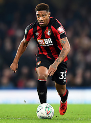 December 20, 2017 - London, Greater London, United Kingdom - Bournemouth's Jordon Ibe gets away from Chelsea Midfielder Danny Drinkwater during the Carabao Cup Quarter - Final match between Chelsea and AFC Bournemouth at Stamford Bridge, London, England on 20 Dec 2017. (Credit Image: © Kieran Galvin/NurPhoto via ZUMA Press)