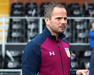 Stephen Clemence of Aston Villa before the Sky Bet Championship match at Craven Cottage, London<br /> Picture by Richard Brooks/Focus Images Ltd 07947656233<br /> 17/04/2017