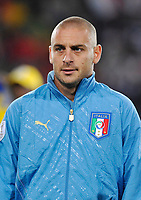 Fotball<br /> Egypt v Italia<br /> Foto: DPPI/Digitalsport<br /> NORWAY ONLY<br /> <br /> FOOTBALL - CONFEDERATIONS NATIONS CUP 2009 - GROUP B - 1ST ROUND - EGYPT v ITALY - 18/06/2009<br /> <br /> DANIELE DE ROSSI (ITA)