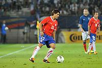 FOOTBALL - FRIENDLY GAME - FRANCE v CHILI - 10/08/2011 - PHOTO SYLVAIN THOMAS / DPPI - MARCO ESTRADA (CHI)