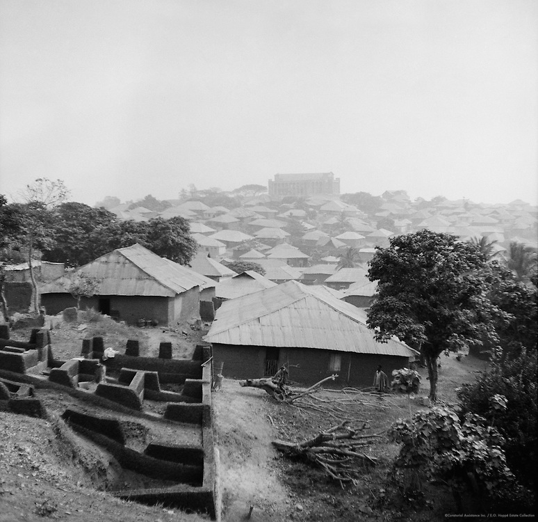 Houses, Ibadan, Nigeria, Africa, 1937