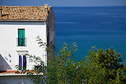 White House Look Out At the Ocean in Italy