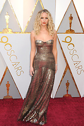 March 5, 2018 - Los Angeles, California, USA - 3/4/18.Jennifer Lawrence at the 90th Annual Academy Awards (Oscars) presented by the Academy of Motion Picture Arts and Sciences..(Hollywood, CA, USA) (Credit Image: © Starmax/Newscom via ZUMA Press)