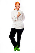 Chef and TV personality Adrianne Calvo of Chef Adrianne's Vineyard Restaurant and Wine Bar in Miami