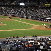 Dallas Keuchel, Houston Astros, striking out Brett Gardner, New York Yankees during the New York Yankees Vs Houston Astros, Wildcard game at Yankee Stadium, The Bronx, New York. 6th October 2015 Photo Tim Clayton for The Players Tribune