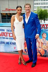 May 30, 2017 - Berlin, Berlin, Deutschland - Ilfenesh Hadera and David Hasselhoff at the 'Baywatch' photocall at Sony Center on May 30, 2017 in Berlin, Germany. (Credit Image: © Future-Image via ZUMA Press)