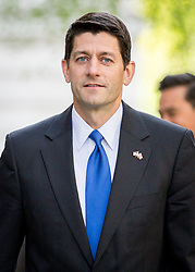 © Licensed to London News Pictures. 19/04/2017. London, UK. Speaker of the United States House of Representatives Paul Ryan arrives in Downing Street. Yesterday, Theresa May called a snap General Election, to take place on 8 June 2017. Photo credit : Tom Nicholson/LNP