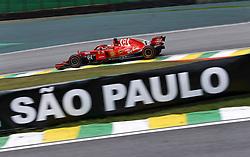 November 9, 2018 - Sao Paulo, Brazil - Motorsports: FIA Formula One World Championship 2018, Grand Prix of Brazil World Championship;2018;Grand Prix;Brazil ,   , #5 Sebastian Vettel (GER, Scuderia Ferrari) (Credit Image: © Hoch Zwei via ZUMA Wire)