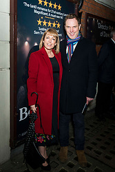 Fay Ripley and guest attend the Beginning press night at the Ambassadors Theatre, London. Picture date: Tuesday 23rd January 2018.  Photo credit should read:  David Jensen/ EMPICS Entertainment