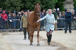 Llewellyn Emily, (GBR), Greenlawn Sky High<br /> First Horse Inspection - Mitsubishi Motors Badminton Horse Trials <br /> Badminton 2015
