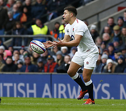 February 10, 2019 - London, England, United Kingdom - Ben Youngs of England during the Guiness 6 Nations Rugby match between England and France at Twickenham  Stadium on February 10th, 2019 in Twickenham, London,  England. (Credit Image: © Action Foto Sport/NurPhoto via ZUMA Press)