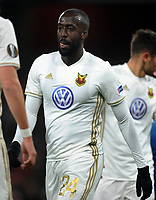 Football - 2017 / 2018 Europa League - Round of Thirty-Two, Second Leg: Arsenal (3) vs. Ostersunds FK (0)<br /> <br /> Ronald Muklibi of Ostersunds, at The Emirates.<br /> <br /> COLORSPORT/ANDREW COWIE