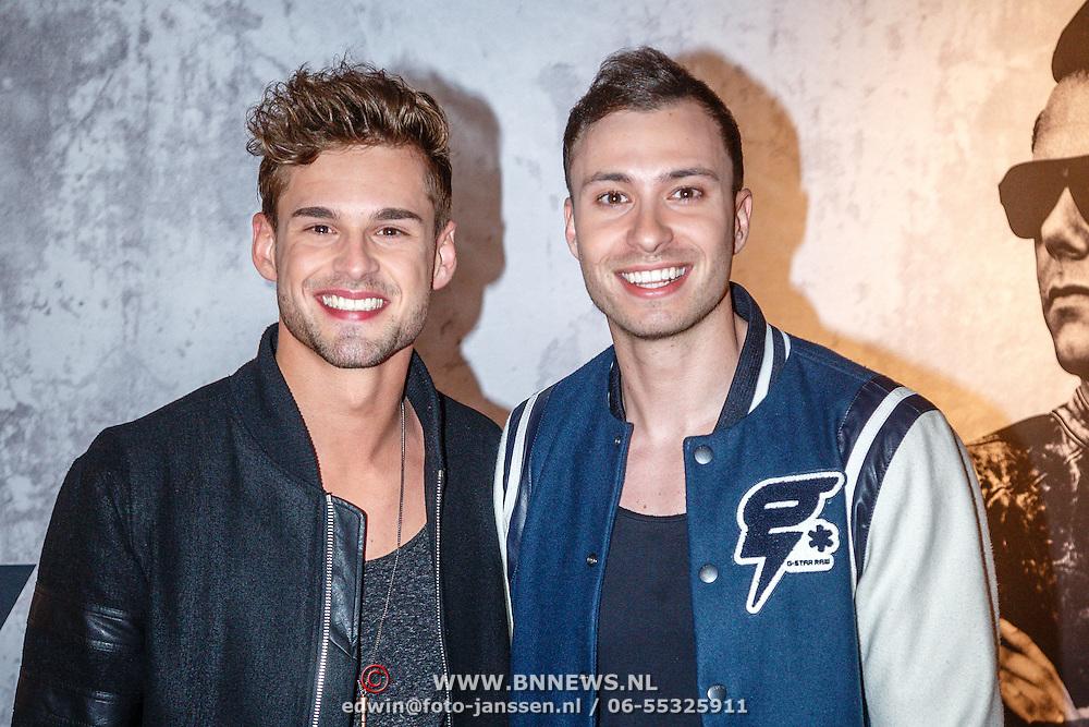 NLD/Amsterdam/20160506 - Première Armin Only Embrace, Rutger Vink en partner