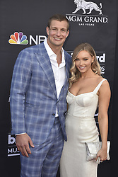 May 1, 2019 - Las Vegas, NV, USA - LAS VEGAS, NEVADA - MAY 01: Rob Gronkowski and Camille Kostek attends the 2019 Billboard Music Awards at MGM Grand Garden Arena on May 01, 2019 in Las Vegas, Nevada. Photo: imageSPACE (Credit Image: © Imagespace via ZUMA Wire)
