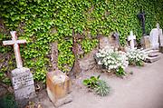 Graves, Mont Saint-Michel Cemetery, Normandy, France