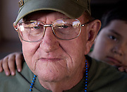 Ten year Army and Navy veteran, Bob William, who served in Vietnam in 1962, 1967 and 1968 participated in the Veterans Day Parade, which honors American military veterans, in Tucson, Arizona, USA.