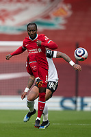 Football - 2020 / 2021 Premier League - Liverpool vs Fulham - Anfield<br /> <br /> Liverpool FC's Naby Keïta in action during todays match  <br /> <br /> CreditCOLORSPORT/TERRY DONNELLY
