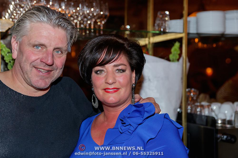 NLD/Amsterdam/20181121 - Boekprrsentatie De Bijbel van. de Franse Keuken, Jonnie Boer en partner Therese Boer - Tausch
