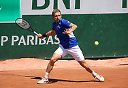 Daniel Evans of Great Britain during day 1 of the French Open 2021, a Grand Slam tennis tournament on May 30, 2021 at Roland-Garros stadium in Paris, France - Photo Jean Catuffe / ProSportsImages / DPPI