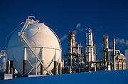 Alaska. Kenai Peninsula. Tesoro's petroleum refinery is a major supplier of refined products.
