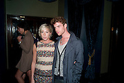 Polly Stenham; Harry Treadaway, Party after the opening of  'Prick Up Your Ear's'  at the Comedy theatre. Cafe de Paris. Leicester Sq. London. 30 September 2009