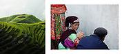 """China , Longsheng rice terraces - """"Magia Azji"""" book"""