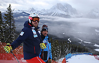 Alpint<br /> FIS World Cup<br /> Lake Louise Canada<br /> November 2017<br /> Foto: Gepa/Digitalsport<br /> NORWAY ONLY<br /> <br /> LAKE LOUISE,CANADA,22.NOV.17 - ALPINE SKIING - FIS World Cup, downhill training, inspection, men. Image shows Kjetil Jansrud (NOR) and coach Johno Mcbride (USA). Photo: GEPA pictures/ Wolfgang Grebien