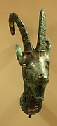 The lion headed goddess Sekhmet Thebes, with bronze inserts