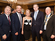 Ronan Scully and Ray Jordan Gorta Self Help Africa, Avril Horan and Sean Kyne TD  and Cllr Noel Larkin Mayor of Galway at the Gorta Self Help Africa Annual Ball in Hotel Meyrick Galway City. Photo: Andrew Downes, XPOSURE.