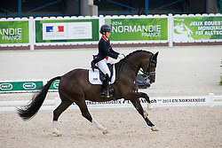 Charlotte Dujardin, (GBR), Valegro - Grand Prix Team Competition Dressage - Alltech FEI World Equestrian Games™ 2014 - Normandy, France.<br /> © Hippo Foto Team - Leanjo de Koster<br /> 25/06/14