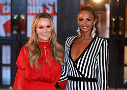 Amanda Holden (left) and Alesha Dixon (right) attending the Britain's Got Talent Photocall at the Opera House, Church Street, Blackpool.