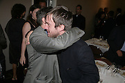 Gregor Muir and Stuart Shave, Anita Zabludowicz gallery opening dinner at 176 Prince of Wales Road, NW5 17 September 2007. -DO NOT ARCHIVE-© Copyright Photograph by Dafydd Jones. 248 Clapham Rd. London SW9 0PZ. Tel 0207 820 0771. www.dafjones.com.