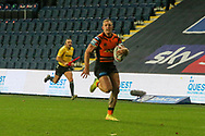 Greg eden races away to score during the Betfred Super League match between Leeds Rhinos and Castleford Tigers at Emerald Headingley Stadium, Leeds, United Kingdom on 26 October 2020.